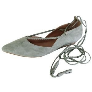 Steven By Steve Madden Gennna Flats Ankle Lace Up